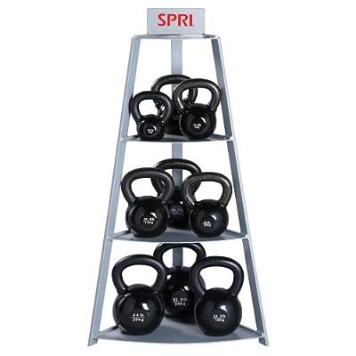 SPRI Steel Kettle Bell Storage Rack by SPRI