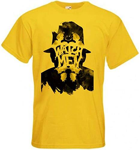 Mens Watchmen v1 T-Shirt Movie Poster Short Sleeve Shirts