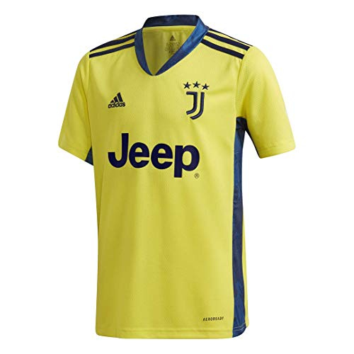 adidas Juventus Camiseta Amarilla de Portero niño 2020/21 9-10 años, Amarillo