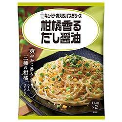 キューピー あえるパスタソース 柑橘香るだし醤油 (26.7g×2袋)×6袋入×(2ケース)