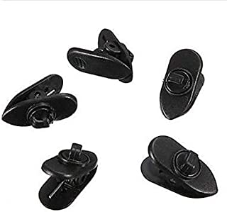 SOLDOUT™ 5 PCS Clips For Headphone Earphone Cable Wire Fine Nip Clamp MP3 MP4 Holder Mount Collar Applicable Round Line Sm...