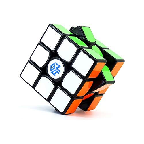 mächtig der welt GAN 356 Air Master, 3 × 3-Geschwindigkeitswürfel Puzzle Magic Cube, Schwarz (Version 2019)