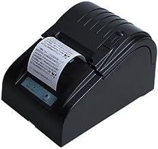 BOYISEN ZJ-5890T Impresora térmica de Recibos Rollos de Papel térmico de 58 mm 90mm/Sec, ESC/POS, Mini USB Portátil, Conpartible con Win XP/Vista/Win 7/Win 8,Linux