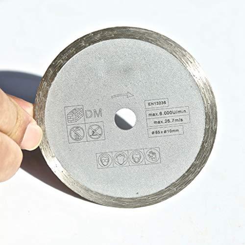 ZhuJinSheng Snijschijf 1PC 85 * 10/15 * 1.8 * 4mm Nat Snijschijf Marching De meeste merken Mini Saw voor Home DIY Marble/Graniet/Tegel/Cutting,1,10 millimetri