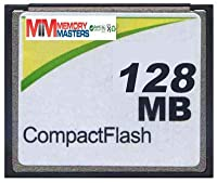 MemoryMasters 128MB CompactFlash Card - Standard Speed (p/n CF-128MB) [並行輸入品]