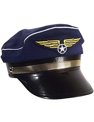 Jacobson Hat Company Pilot Hat Costume Accessory,...