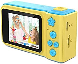 V.T.I. Mini Digital Point and Shoot Camera for Kids with Expandable Memory (Blue and Yellow)
