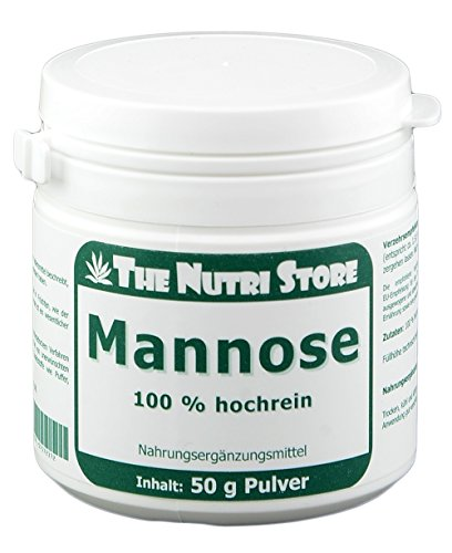 Mannose 100% reines Pulver 50 g ohne weitere Zusatzstoffe