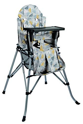 FemStar faltbarer Kinder Hochstuhl One2Stay Comfort + DT (Esstablett) Print design