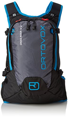 ORTOVOX Cross Rider 18 S Mochila, Unisex Adulto, Negro (Black Anthracite), 52 Centimeters