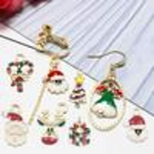 Charms Lots Schmuckherstellung Charms Weihnachten Legierung Schlüsselanhänger Anhänger Hängende Ornamente DIY Material Kits Legierung Charms Anhänger DIY Für Halskette Armband Schmuckherstellung