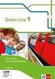 Green Line 1: Fit für Tests und Klassenarbeiten mit Lösungsheft und Mediensammlung Klasse 5 (Green Line. Bundesausgabe ab 2014) -