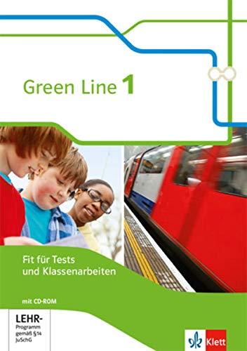 Green Line 1: Fit für Tests und Klassenarbeiten mit Lösungsheft und Mediensammlung Klasse 5 (Green Line. Bundesausgabe ab 2014)