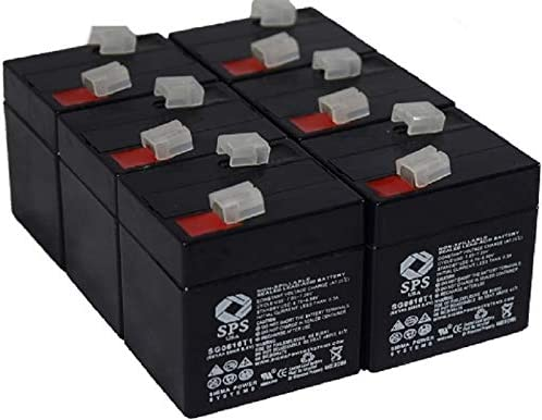 SPS Brand 6V 1Ah Replacement Medical 14700 Today's only Cheap mail order sales Biosearch for Battery
