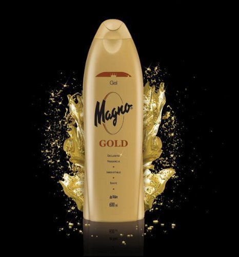 Magno Gold Shower Gel 18.3 Oz./550ml Case of 12 by Magno Gold