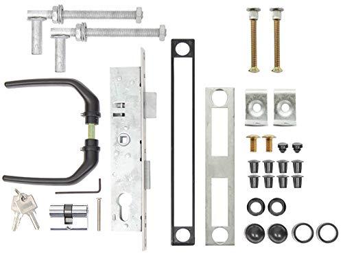 GAH-Alberts 653804 Zubehör-Set für Wellengitter-Tore - für Tore bis 1500 mm Höhe, feuerverzinkt