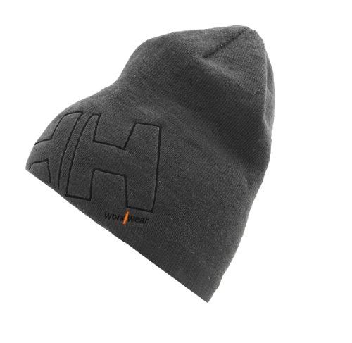 Helly Hansen Mütze aus Mikrofleece mit Logo HH WW Beanie 79830 grau
