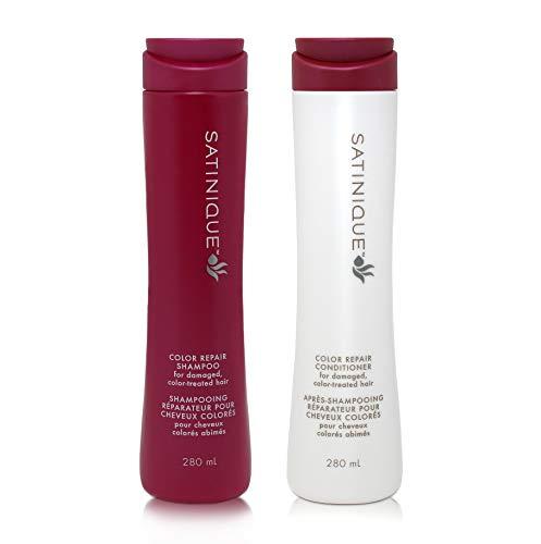 1 x Regenerierendes Farbpflegeshampoo SATINIQUE™ - 1 x 280 ml + 1 x Regenerierende Farbpflegespülung SATINIQUE™ - 1 x 280 ml - Amway - (Art.-Nr.: 110663) + (Art.-Nr.: 110671)
