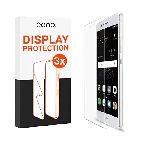 Eono 2.5D Vidrio blindado [3 Unidades] Compatible con Huawei P9 Lite –...
