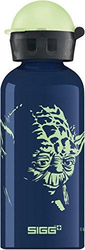 Sigg Star Wars Yoda Gourde d'eau Mixte Enfant, Bleu, 0.4 L