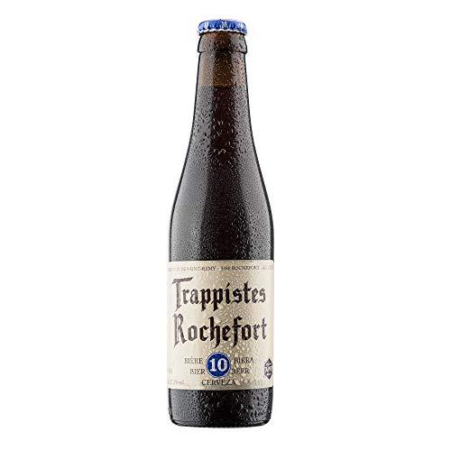 6. Trappistes Rochefort 10 – Cerveza belga de 350 ml con 11.3% de alcohol