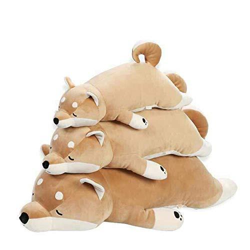 HHNN Shiba Inu Spielzeug Puppe Hund Schädel Husky Kissen Japan Akita Hund Plüschtier Corgi Hund Und Mädchen Weihnachten Geburtstagsgeschenk