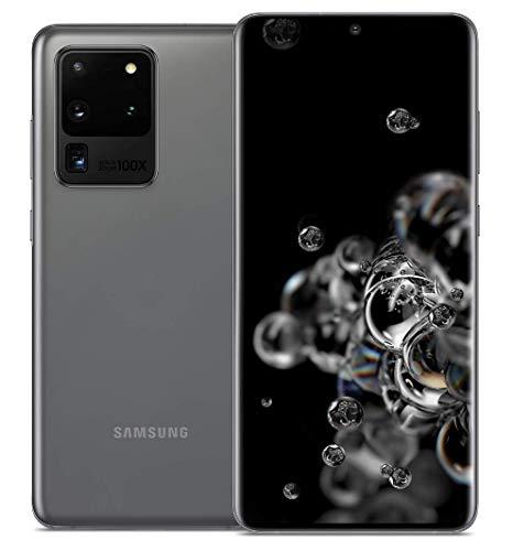 """Samsung Galaxy S20 Ultra 5G (SM-G9880) Dual SIM / 256GB+12GB RAM / 6.9""""/ 5G対応 / SIMフリー スマートフォン, Snapdragon 865 (Cosmic Gray/コスミックグレー)"""