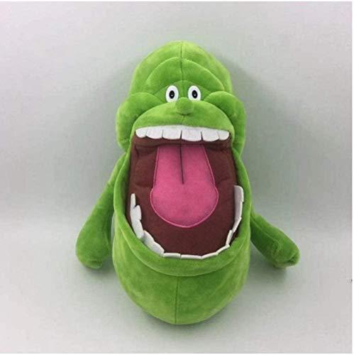 N/D Ghostbusters Slimer Kuscheltiere Plüschtier Niedliche Kuscheltiere Puppenkissen für Mädchen Kinder Kinder Baby Baby Geburtstagsgeschenk 25 cm