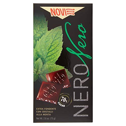 Novi Tavoletta di Cioccolato Nero, Menta, 75g