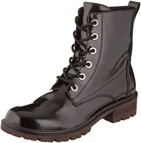 Tamaris Damen 1-1-25280-23 Combat Boots, Rot (Bordeaux Pat. 580), 37 EU