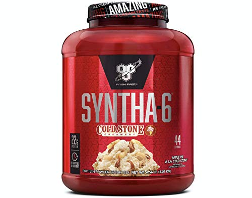 BSN Syntha-6 Cold Stone Creamery 44 Servings Apple Pie