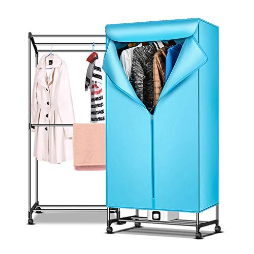 secadora eléctrica Plegable 900w, Capa Simple/Capa Doble, Carga de 15 kg por...