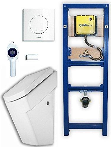 Wisa Excellent XS Urinalelement + Urinal ROCA Hall+ Platte Argos Komplettset