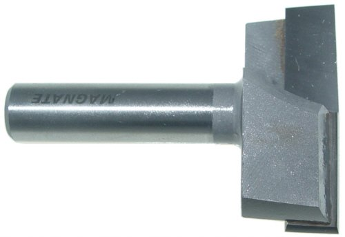 "Magnate 2706 Surface Planing (Bottom Cleaning) Router Bit - 2"" Cutting Diameter"
