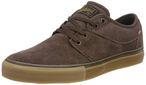 Globe Herren Mahalo Skateboardschuhe, Mehrfarbig (Dark Brown/Gum 000), 44 EU (10,5 US)