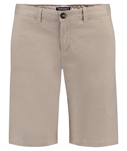 Tommy Hilfiger Damen New Janet Bermuda GMD Short, Beige (Oatmeal 038), 34 (Herstellergröße: 4)