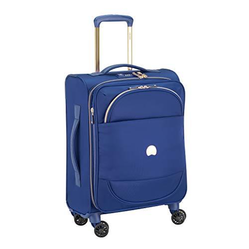 Delsey Paris MONTROUGE Bagage Cabine, 55 cm, 35,6 liters, Bleu (Blau)