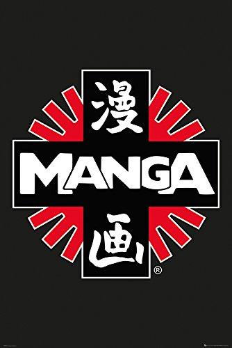 GB Eye Poster Maxi 61 x 91,5 cm Manga – Logo, Multicolore