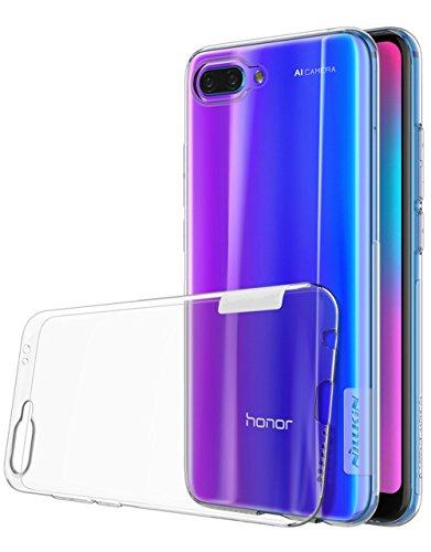 Voigeer Custodia Huawei Honor 10, Paraurti Morbido in Cristallo Trasparente TPU [Tecnologia di Assorbimento Delle Scosse] Coperchi Protetti di Protezione...