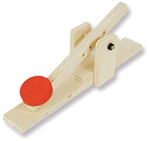 matches21 Einfaches Katapult Schleuder Holz Bausatz f. Kinder Lehrmittel Werkset Kinder Lehrmittel Bastelset ab 10 Jahren