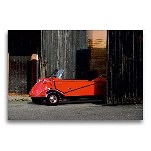 CALVENDO Premium Textil-Leinwand 75 x 50 cm Quer-Format Messerschmitt KR 201 Roadster Baujahr 1957, Leinwanddruck von Ingo Laue