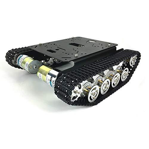 Tanque chasis TS100,tank chasis robot tank chassis para Arduino UNO R3 Inteligente Kit de bricolaje de chasis de orugas