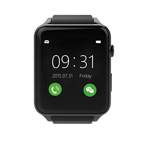 TechComm GT88 Smart Watch Camera Bluetooth GSM Call and Text Heart Rate Monitor