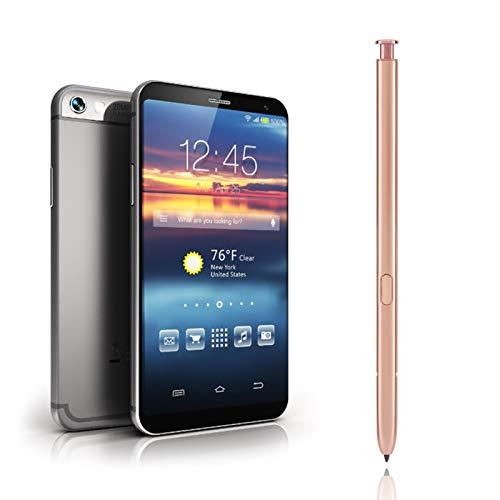 Hoseten Recarga reemplazable, más Conveniente para Llevar el lápiz de Escritura a Mano Bluetooth, lápiz de Control táctil, para el hogar del teléfono(Golden)