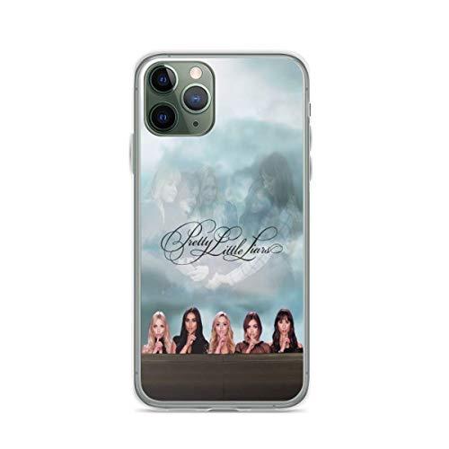 Pure Clear Compatible con iPhone Samsung Xiaomi Redmi Note 10 Pro/Note 9/Poco M3 Pro/Note 8/Poco X3 Pro Funda Pretty Little Liars