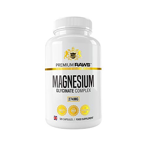 Magnesium Complex - Chelated Magnesium Supplements with 250mg of Magnesium Glycinate, Zinc, Vitamin B6 & Vitamin B5. (120 Vegan Capsules)
