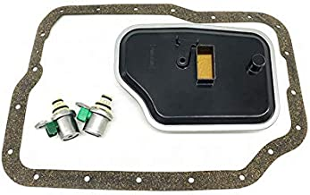 Trans Shift Solenoid Filter Service Kit Replacement For Ford Mazda Focus Protege 99-On with the 4F27E & FN4A-EL Model 4-Speed Transmission XS4Z-7H148A