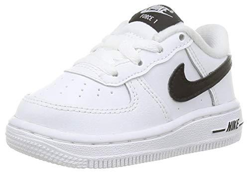 Nike Force 1 AN20 (TD), Zapatillas de Gimnasio Unisex niños, White Black, 25 EU