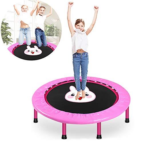 HECHEN Kinder Trampolin Zuhause Indoor Zusammenklappbar Kind Hüpfbett Klein Fitness Für Erwachsene Trampolin Kinder Sprungbett
