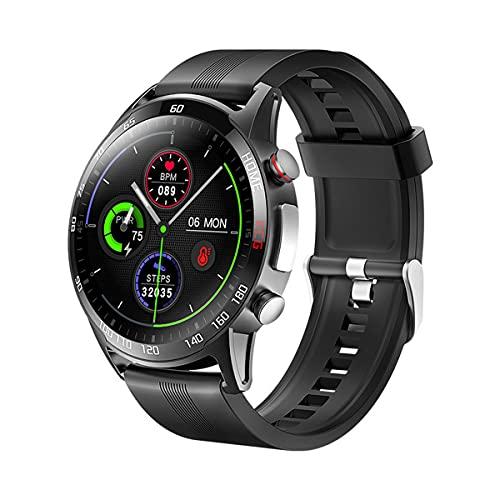 QNMM Reloj Elegante F600 Deportes Hombres Mujeres, ECG de Ritmo Cardíaco de Oxígeno de La Sangre Arterial La Presión Rastreador de Ejercicios SmartWatch IP67 a Prueba de Agua para Android iOS